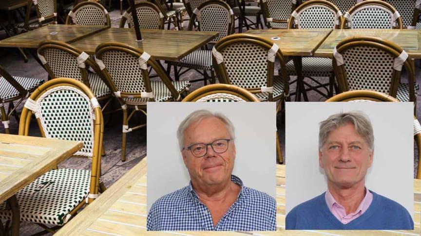 Erik Sjölander och Sten Lindgren Småföretagarnas Riksförbund kräver att regeringen agerar de närmaste dagarna