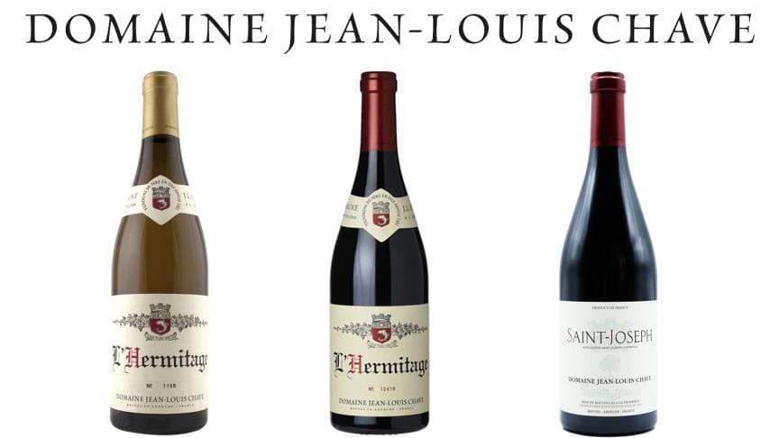 Webblansering av tre kvalitetsviner från Domaine Jean-Louis Chave den 21:a oktober.