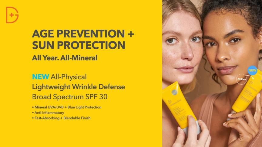 Dr Dennis Gross Skincare lanserar: All-Physical Lightweight Wrinkle Defense Spf 30