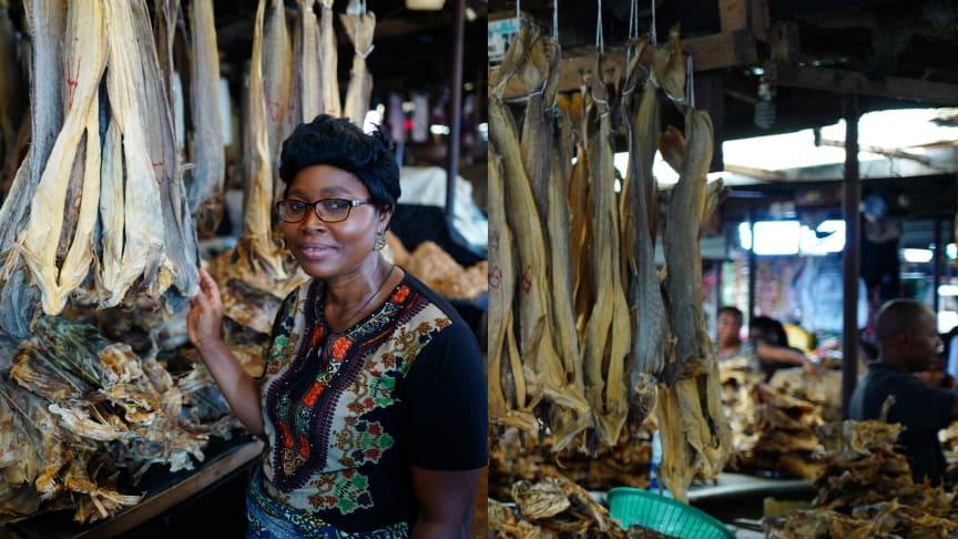 En norsk næringslivsdelegasjon besøkte denne uken Lagos i Nigeria. Statssekretær Ronny Berg (FrP) hadde samtaler med tollmyndigheter og fiskeridepartementet i Nigeria.