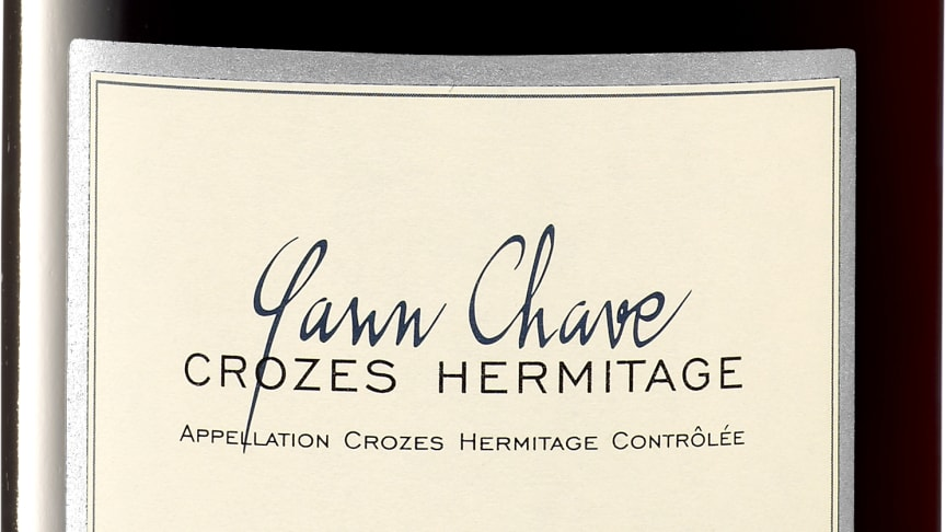 Yann Chave Crozes-Hermitage 2017