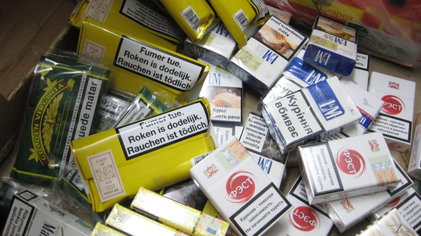 Illicit tobacco seized in Peterborough