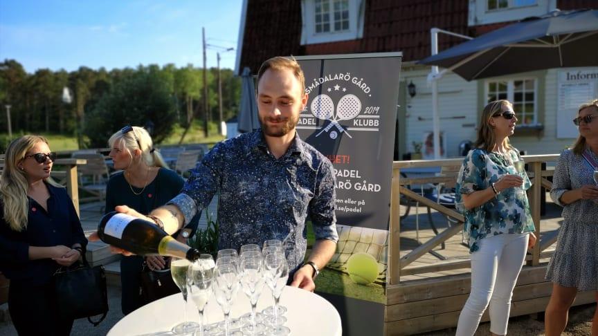 Invigningsfest för nya padelbanor, Smådalarö Gård