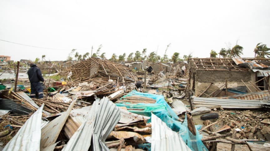 Devastations from cyclone Idai is making many areas difficult to access.