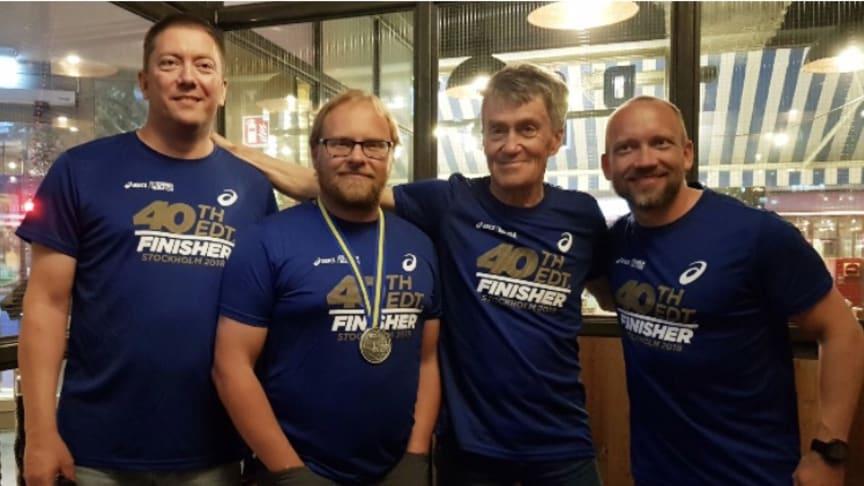Mats Ylipää, Tony Johansson, Stig Ylipää och Robert Ylipää