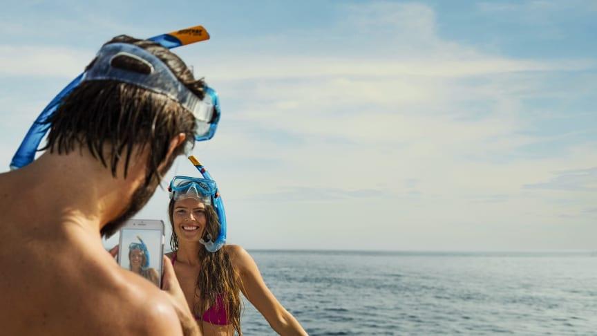 Det deler danskerne på de sociale medier fra ferien