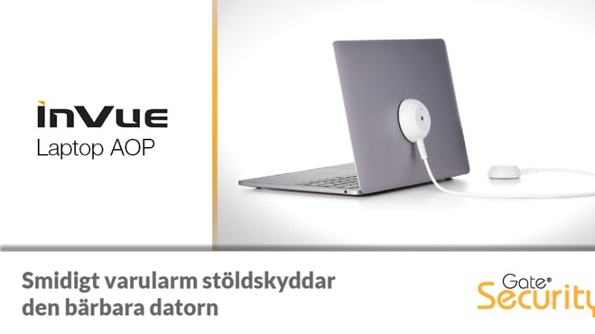 Varularm för bärbara datorer - InVue Laptop AOP
