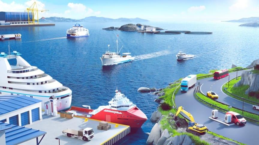 Næringstransport både til lands og vanns inngår i det nye Nullutslippsfondet.