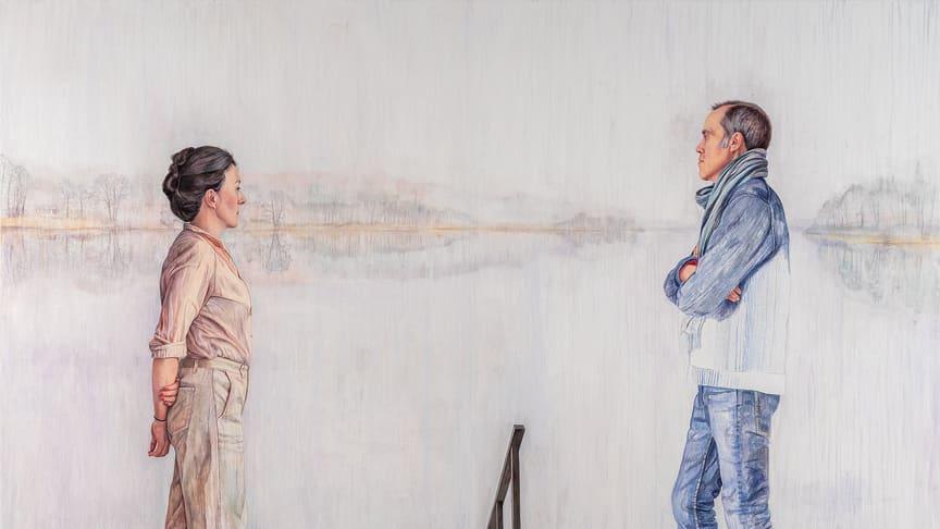 Martina Müntzing, Farväl till en utsikt. Foto: Hossein Sehatlou