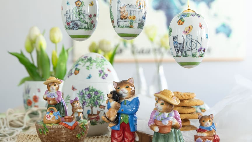 Sweet kittens and colourful flowers: the Hutschenreuther Collector's Edition 2020.