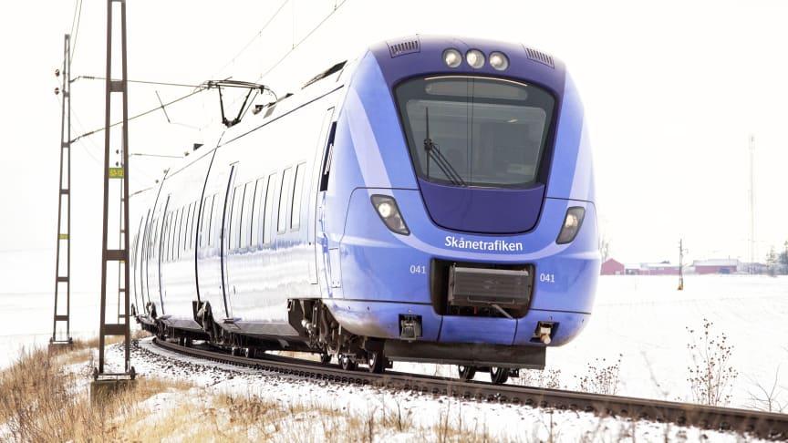 19 nya pågatåg möter resenärerna i Skåne