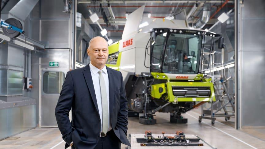 Thomas Böck, Chairman of the CLAAS Group Executive Board. Photo: CLAAS