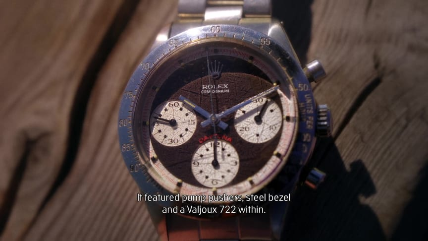 "Video: Rolex Daytona ""Paul Newman"" Daytona"