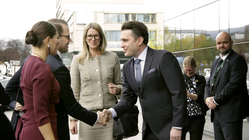 Kronprinsessparet besöker System Verification i Sarajevo