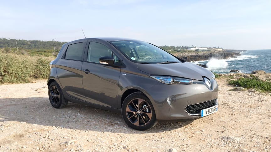 Renault Zoe har nu en rækkevidde på mere end 400 kilometer