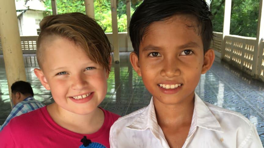 Adam 12 år vill förändra världen – går i generation Z:s fotspår