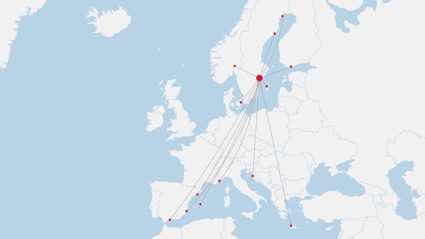 Norwegians linjer från Stockholm Arlanda från 1 juli 2020