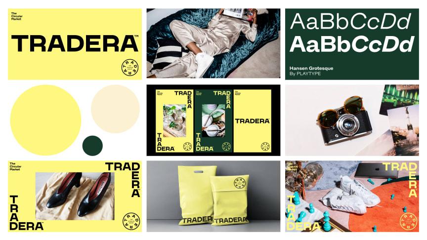 Traderas varumärkesresa är att driva omställningen till hållbar shopping