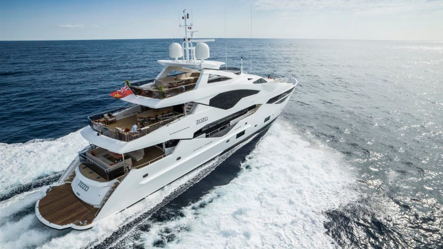 Dometic has signed a three-year exclusive air-conditioning supply contract with luxury boatbuilder Sunseeker.  Image courtesy of Sunseeker Int.