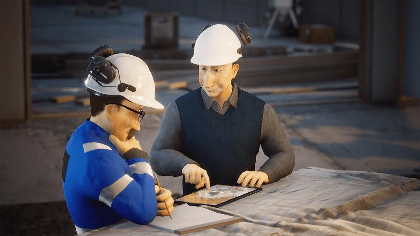 Arbeidsinstruksen er en nyttig sjekkliste for varmt arbeid, men mange sliter med å forstå den. Foto/ill. Trainor