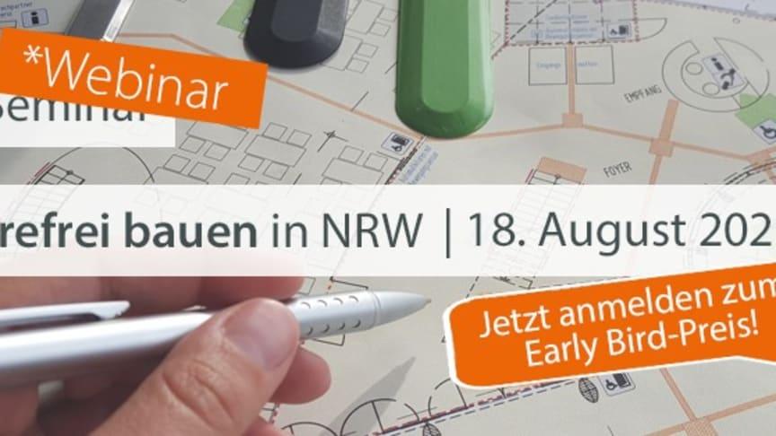 bfb-Webinar – Barrierefrei bauen in NRW