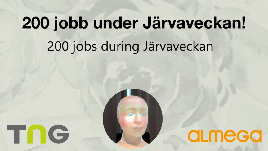 TNG and Tengai Unbiased will be at Järvaveckan 2019