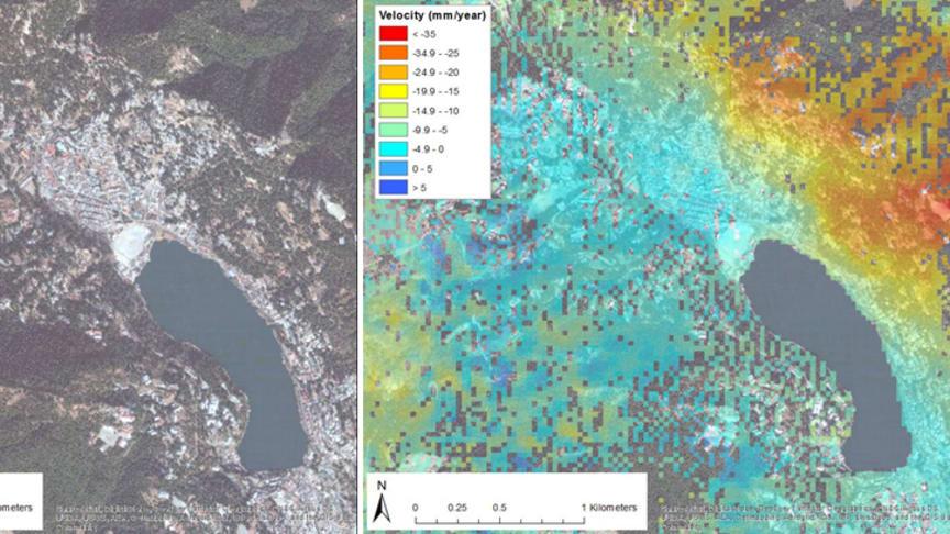 Kartlegger jordskredfare i indiske Himalaya