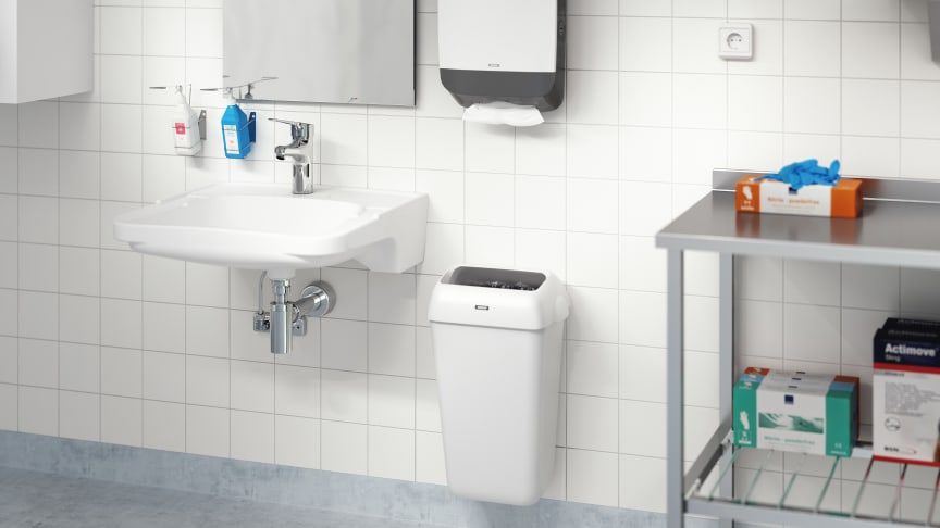FM Mattsson's new MEDICARE collection meet´s the market's accessibility and hygiene requirements.