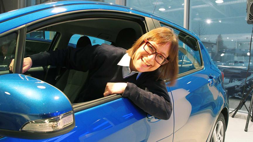 Markedssjef i Nordvik Gruppen, Elisabet Nordvik Sandnes er fornøyd med utviklingen.