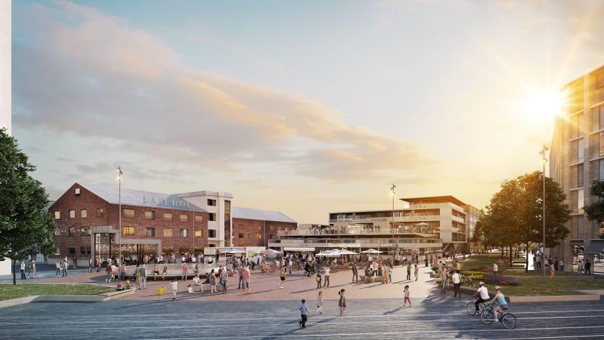 Nu kan Godisfabriken börja byggas upp