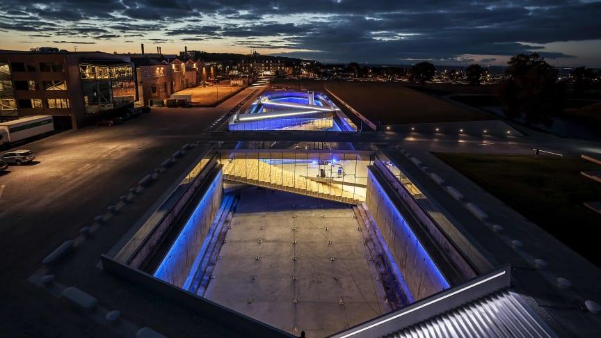 M/F Maritimes Museum Dänemark - zwischen Schloss Kronbrog und der Kultur Werft in Helsingør