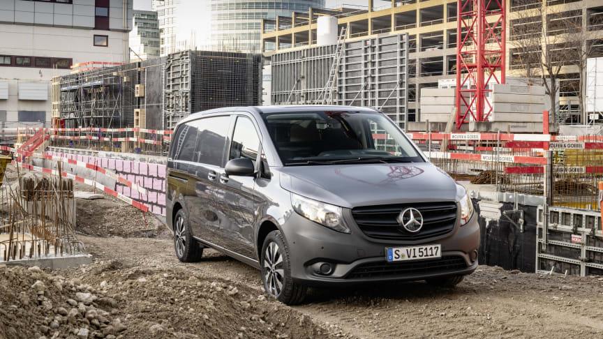 Ny Mercedes Vito præsenteret: Økonomiske motorer, ny automatgearkasse og helt nye sikkerhedsfunktioner