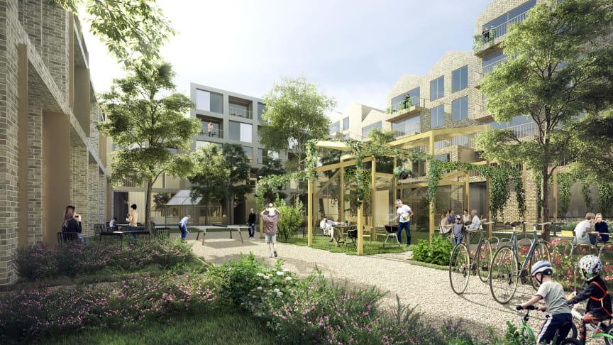 I Humlestaden vill man bo och utvecklas i ett trivsamt socialt sammanhang.