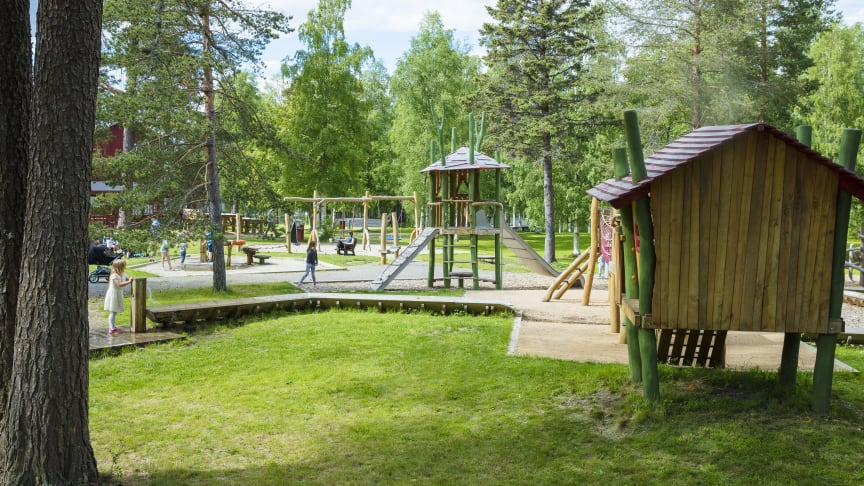 Lekparken på Umeå Energicentrum