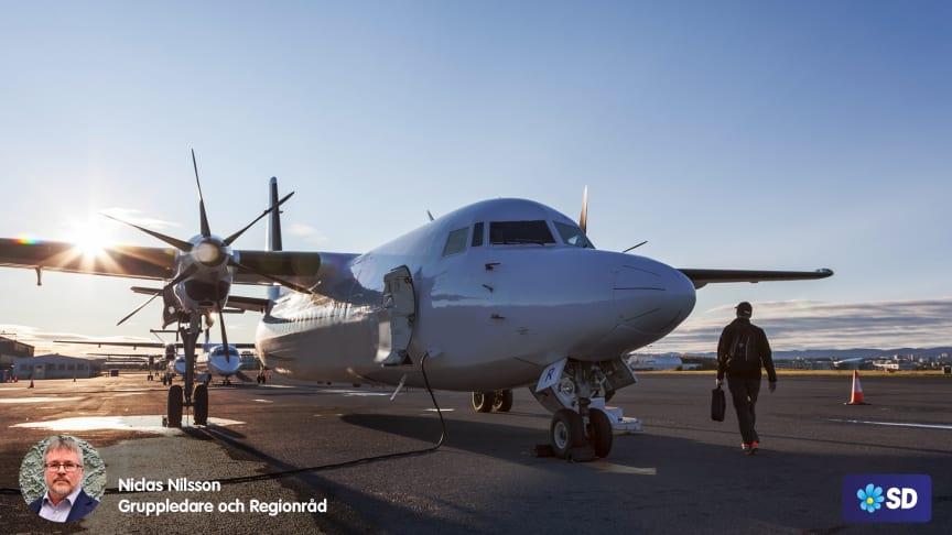 Stoppa nedläggningen av Bromma Flygplats!