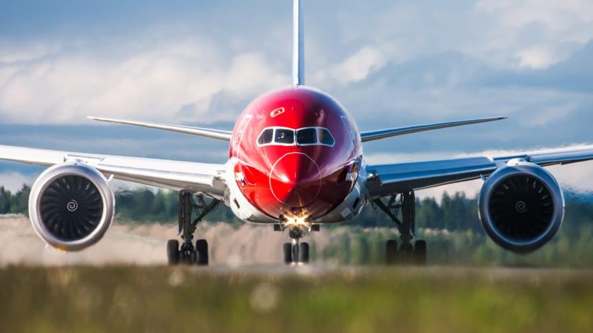 Boeing 787 Dreamliner. Kuva: Jørgen Syversen