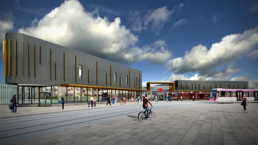 The new Wolverhampton Railway Station