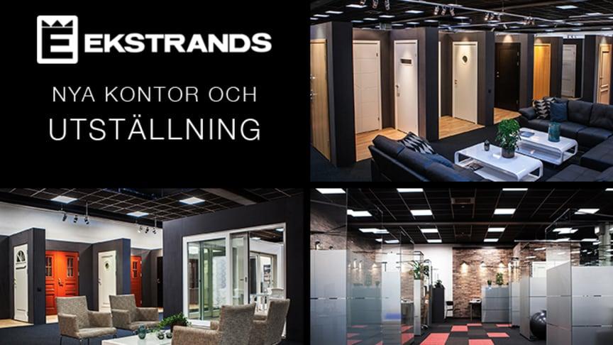 Ekstrands nya kontor och utställning