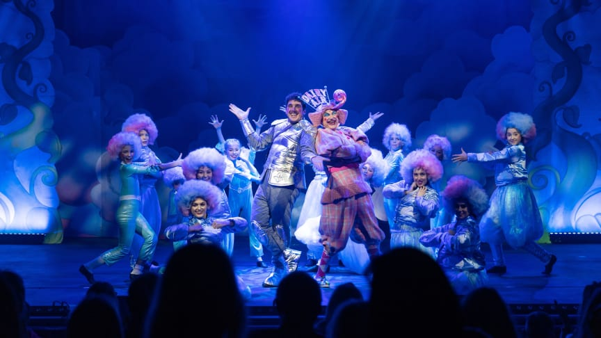 E M Forster Theatre pantomime, Jack and the Beanstalk.