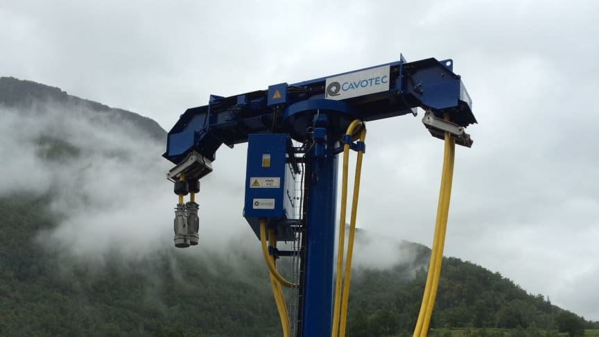 A Cavotec AMPDispenser unit in Norway