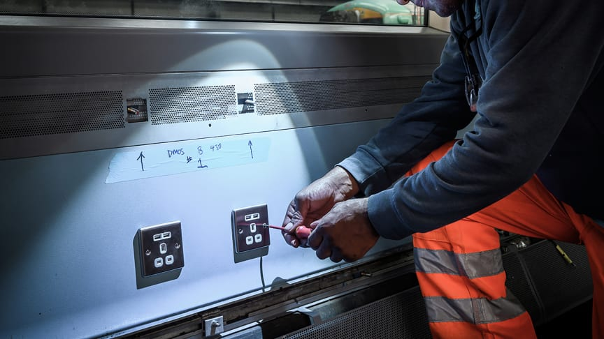 Project Aurora: GTR's £55 million train modernisation programme will install charging points, information screens and LED lighting in around 1,000 carriages