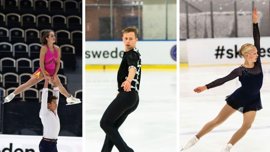 Emelie Ling, Nikolaj Majorov och Greta Crafoord & John Crafoord uttagna till JVM 2020
