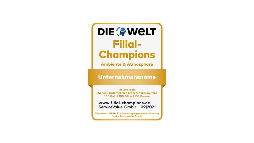 Stationär shoppen mit Ambiente: Deutschlands Filial-Champions 2021