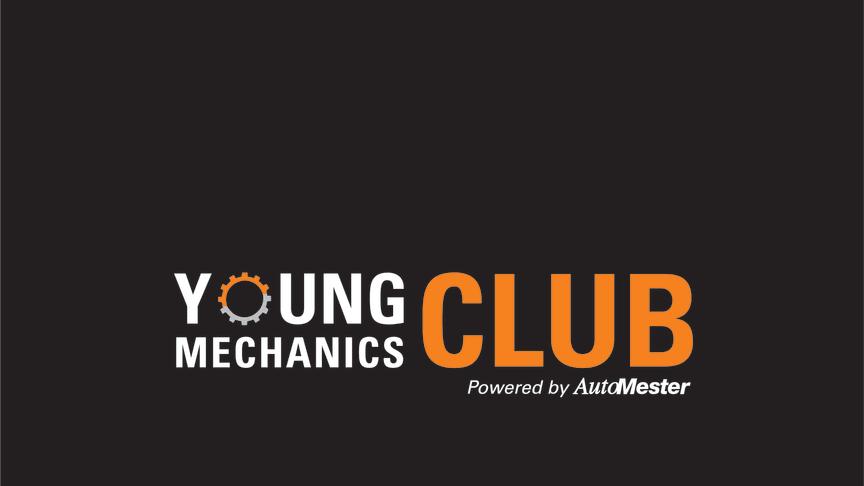 Young Mechanics CLUB er det nye logo for den helt nye klub for lærlinge i AutoMester