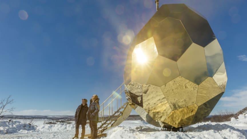Solar Egg av Bigert och Bergström för Riksbyggen. Foto: Jean-Baptiste Engblad Béranger