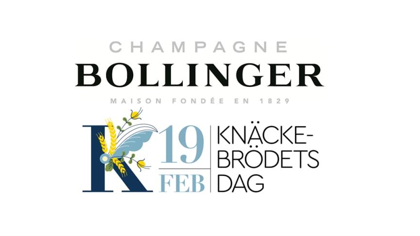Champagne Bollinger samarbetar med Knäckebrödsakademin till Knäckebrödets dag