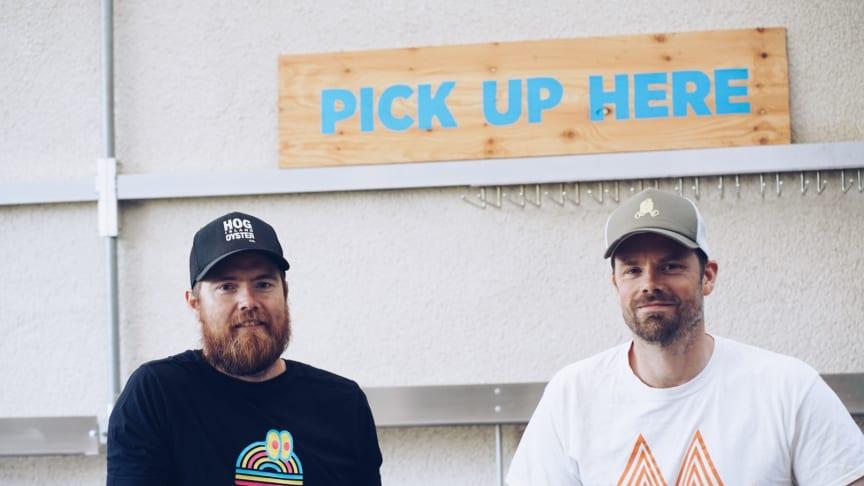 Joacim Hedlund och Jon Widegren från Lådan
