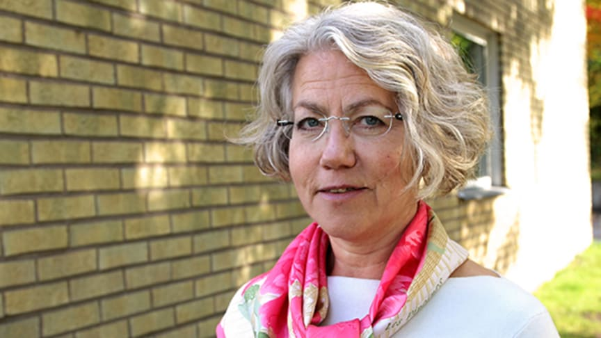 Susanne Bergenbrant Glas, chefläkare i Tiohundra.