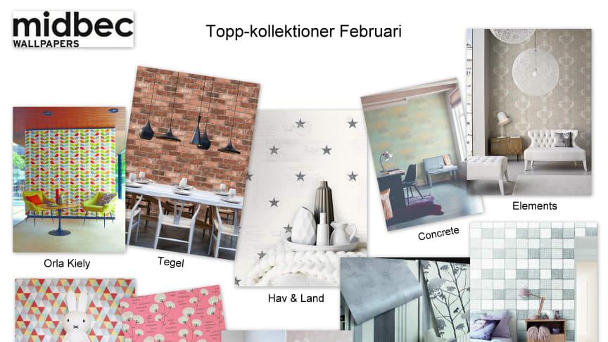 Topp-kollektioner Februari!