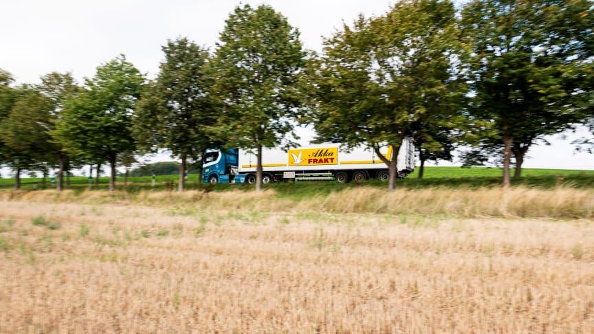 Akka Frakt fossilfria potatistransporter